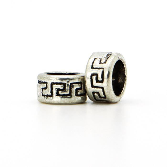 New Fashion 1Pcs Silver Bead Charm European DIY Silver Line Bead Fit Pandora Bracelets Bangles