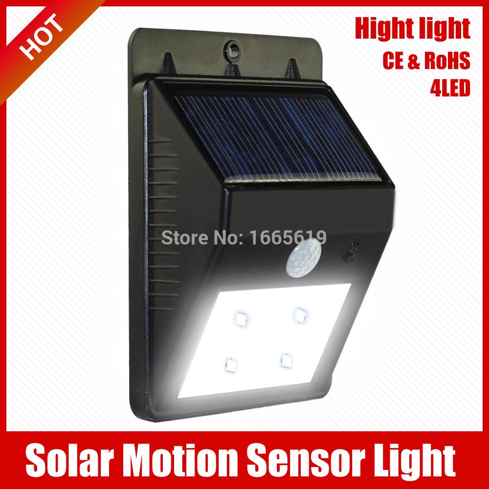 led solar light outdoor/indoor solar lamps/lights for garden street light waterproof luz solar Powered 4Bright lighting system(China (Mainland))