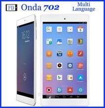 7 Inch ONDA V702 Tablet Android 4.4 Allwinner A33 Quad-core 512MB+8GB 960 x 540 pixels 3000mAh Wifi OTG Tablet 50JPB0233A1