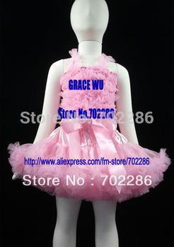 Wholesale baby girls tutu set pettiskirt and tank holiday clothing sets