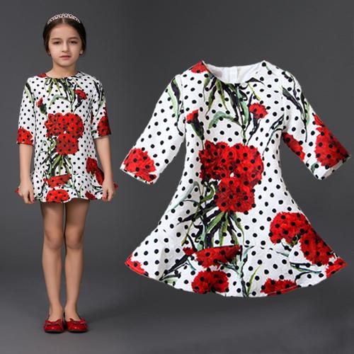Платье для девочек Name brand 2015 , 4/8 , HYF-DS20-8 сумка brand name 6 2015 100