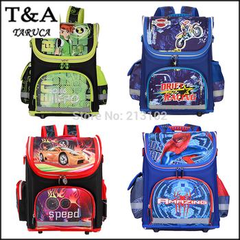 Новый дети ранцы для мальчиков ортопедические водонепроницаемый рюкзаки детьми мальчик ...