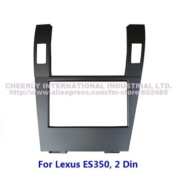 2 Din Car Audio Frame, Dashboard Kit, DVD Panel, Fascia, Radio Installation Kit, Stereo Frame, Adaptor Kit for Lexus ES350, 2din