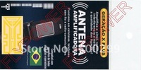 100/lot the newest Antenna Booster Sticker Generation X-Plus with the Portuguese Packing by free shipping