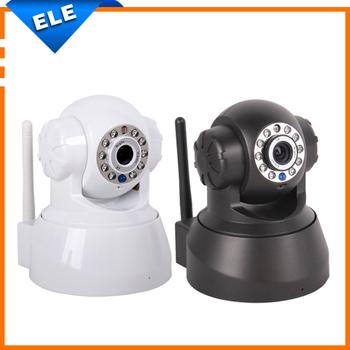 Wireless IR nternet/Network IP Camera CCTV WiFi IP Camera tf card slot