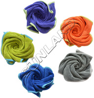 Wholesale 50PC/lot 25cmx25cm Microfiber Kitchen Towels Micro Fibre Cleaning Cloth Funiture Glass Window Mirrors Screen Dust Rag