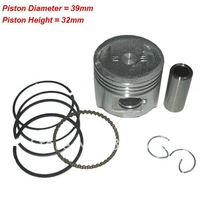 GY6 50cc Piston Set/139QMB Scooter Parts, whole sale and retail