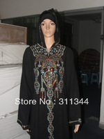 sh062002 new style muslim abaya in size L,XL,XXL for free shipping accept