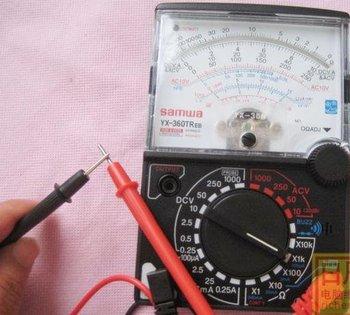 20pcs/lot Analog Multimeter AC DC Ohm VOLT Meter VOM YX-360TREB