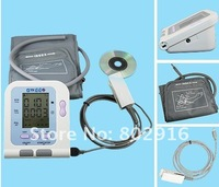 hotsellingl:blood pressuere monitor,digital,multi-function,white/black screen display (Children's armband optional)