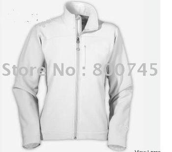 2012 new womens wholesale Free Shipping The Denali women's Fleece jacket WOMen's apex bionic white jacket  size  S-XXL
