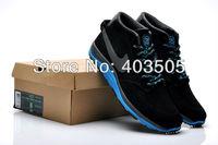 Trainers CR7 Cristiano Ronaldo NEW Nine Men Running Shoes Black & Blue 01