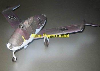 [Alice papermodel] Wingspan 50CM 1:24 World War II sms fighter Blohm Voss P210 X-plane models