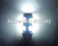 FREE SHIPPING 2 pair X T10 9 SMD 5050 12V LED WHITE Light Bulb Long-lasting