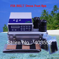 H703 NEW DETOX IONIC SPA FOOT BATH CELL FEET ION MACHINE FIR BELT