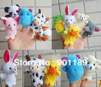 Wholesale baby toy finger puppet toys panimals rops toys