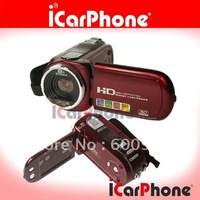 "FREE SHIPPING+2.7"" Digital Camera + 8xdigital zoom Digital Video Camera+12MP Digital camcorder"