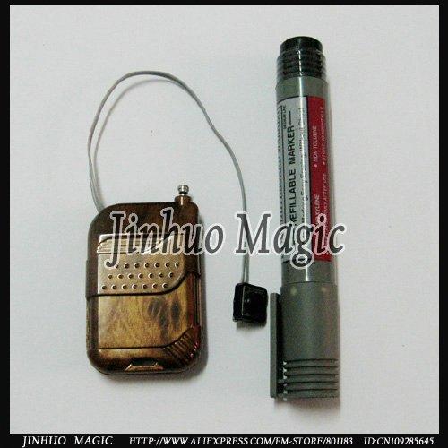 Free shipping,Magic Supernatural power pen magic trick,for street magic props