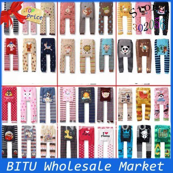 100pcs/lot /animal детские леггинсы брюки bb001