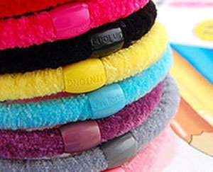 Hair Accessories,Elastic,Hearwear,Mixed color order, factory wholesale price(50pcs/lot)