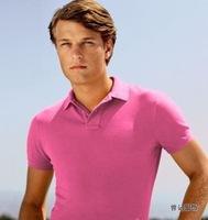 Men's European style LS Classic Fit Mesh Shirt short sleeve man polo shirts fashion polos shirt embroidery small logo shown