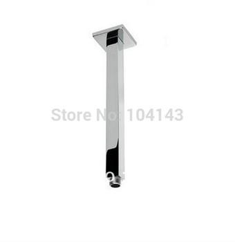 "New Polished Chrome 16""Rain shower Shower Arm  LJ-5603"
