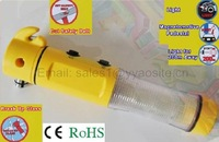 multi-functional light auto-used Flashing alert , life knife in urgent condition
