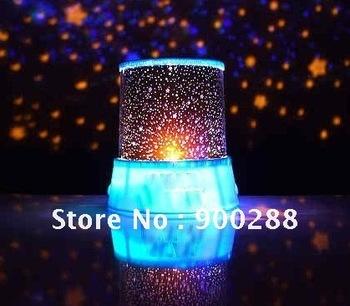 Amazing magic Romantic Cupid  LED Light Star/Love Projector Lamp(5pcs/lot - Free Shipping)