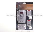 Motion Sensor IR infrared Sensor Alarm Remote Home Security Alarm  with Remote Control 105