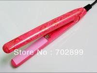 Travel hair iron/Free Shipping mini hair straightener/ceramic little plate/lowest price hair flat iron/portable hair plywood