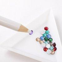 20pcs/lot Nail Art Rhinestones Gems Picking Tools Pencil Pen a must for nail art free shipping