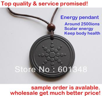 GAGA DEAL!!2pcs/lot&Free shipping!Bio Energy quantum scalar pendant energy card and pendants