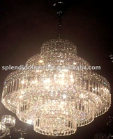 Free Shipping Super Sparkling Hot Sell Crystal Light for Restaurant Meeting Room Living Room Reading Room Dining Room(VLC_23420)