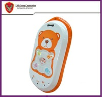 DHL Free shipping 3pcs/lot  Bear mould 2-way talking Kid/child GPS tracker