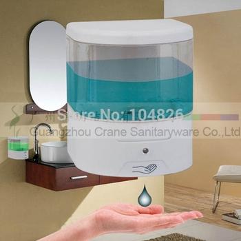 electronic soap holder ABS visiable liquid dispenser infrared sensor disinfectant distributor auto alcohol droper