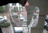 "WHolesale! 100pcs/lot 8x10"" Wide angle fresnel lens,substitute for parking sensor"