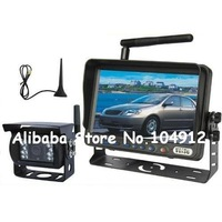 "7"" WIRELESS REAR VIEW BACK UP SYSTEM IR REVERSE CAMERA"