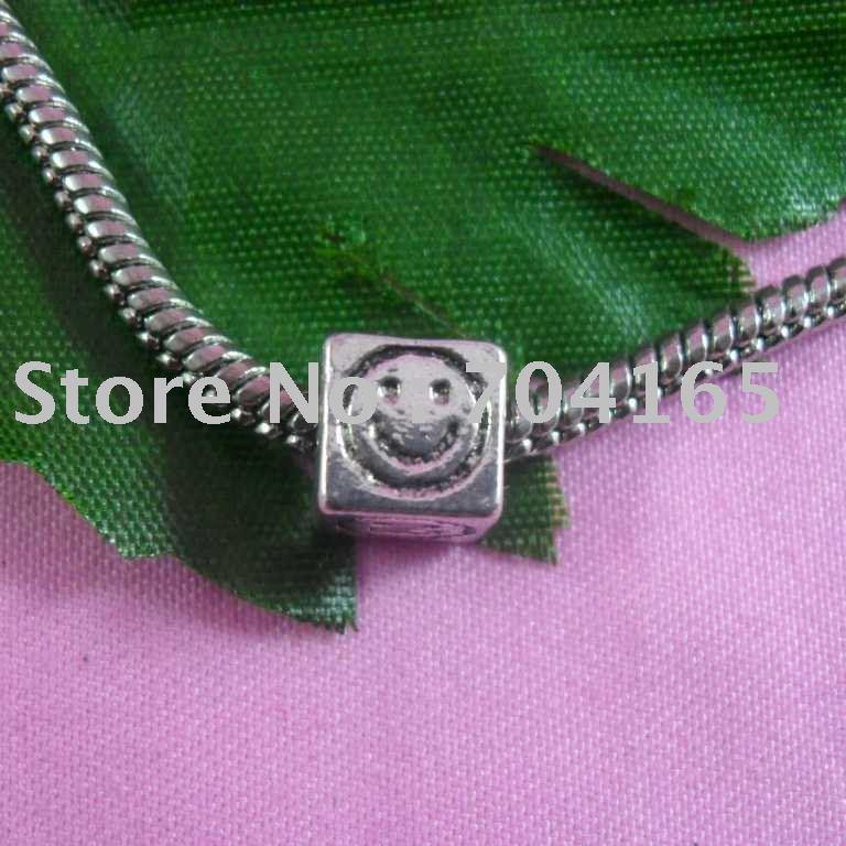 Grátis frete venda quente toda grande beads fit pulseira HQSPL0002 100 pçs/lote(China (Mainland))