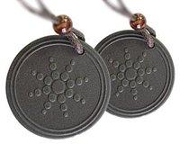 lava materials scalar energy quantum pendant with Quantum Science 50pcs/lot