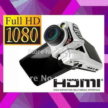 1080p HD Car dvr F900LHD 5M CMOS Camera Video recorder Vehicle black box F900 Auto registrar 4x digital zoom HDMI