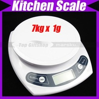 Good Helper Electronic Weight Kitchen Scale 7Kg 1g New #1323