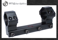 TAC Vector Optics 30mm Scope One Piece Long Dovetail 11mm Mount w/ Integrated Rings Fit Winchester Gamo / 120mm Length