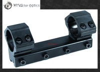 Vector Optics 25.4mm Scope One Piece Low Dovetail 11mm Mount w/ Integrated 1'' Rings Fit Gamo Winchester