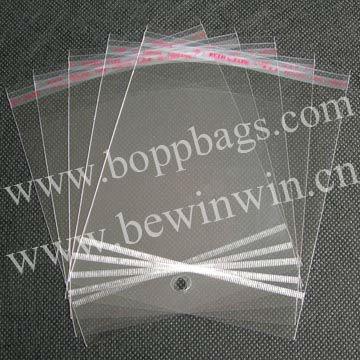 Klar kunststoffverpackungen säcke( 11x13.5cm) mit selbstklebender dichtung und mit hängendem kopf& versandkostenfrei