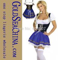 Wholesale Halloween Oktoberfest beer girl costumes for women lingerie