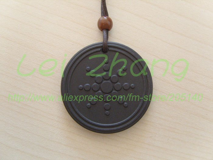 25 Pcs / Lot Quantum Scalar Energy Pendant Health Product with ions and card Free shipping(China (Mainland))