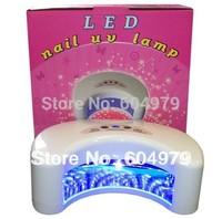 Long Life 12w Led Nail LED UV Lamp Moon Shape Style 110-240v Freeshipping/Wholesale