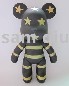 """The unit state bear fashion momo bear United States style New 7"""" gloomy"""