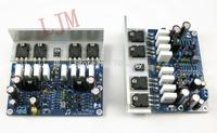 2pcs dual mono HIEND power AMP amplifier board ,2*200W 8ohm assembled& finished