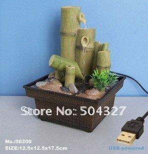 Achetez en gros bambou fontaine d 39 int rieur en ligne des for Fontaine interieur bambou